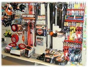 NASCAR and Harley Leashes and Collar